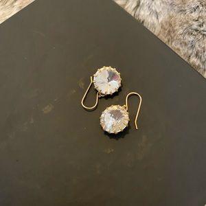J. Crew Sparkle Drop earrings